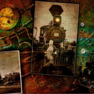 Steam Punk Train 1-2